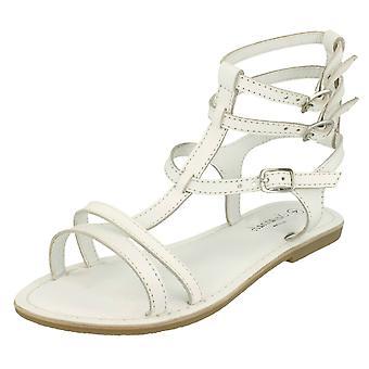 Las señoras Savannah tobillo Casual hebilla plana del gladiador sandalia F0686