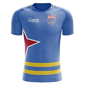 Tricou de fotbal Aruba Home Concept 2020-2021