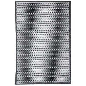 Outdoor-Teppich für Terrasse / Balkon grau Skandi Look Stuoia Charcoal 130 / 190 cm Teppich Indoor / Outdoor - für drinnen und draussen