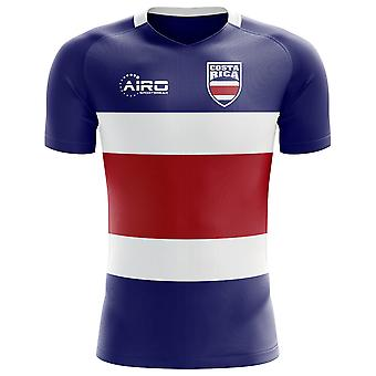 2020-2021 Costa Rica Flag Concept Football Shirt