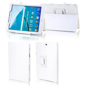 For Samsung Galaxy tab A-10.5 T590 T595 white faux leather case cover pouch case new