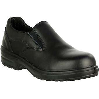 Amblers Safety Ladies FS94C Leather Safety Shoes Black
