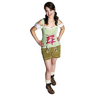 Kle bodice Oktoberfest sexy bodice kostyme for kvinner
