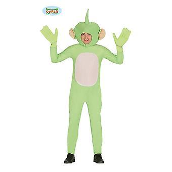 Costume uomo verde alieno verde per Halloween carnevale uomo