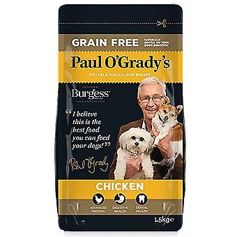 Grano gratis pollo de Paul O'Grady 1,5 kg de alimentos secos perros