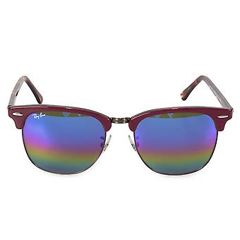 Ray-Ban Clubmaster minerale Flash Lens zonnebril RB3016-F 1222C 2 55