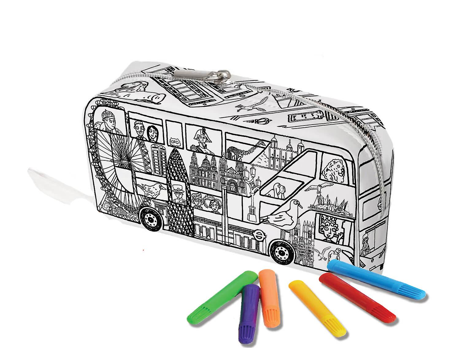 Pencil Case - London Bus