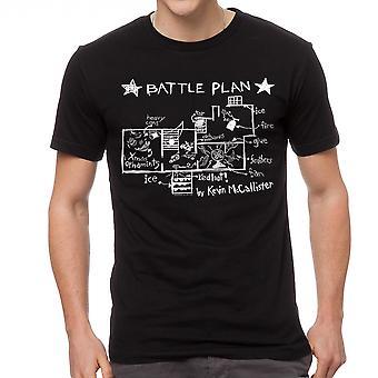 Accueil Plan de bataille seul par Kevin noir T-shirt homme