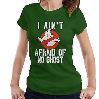 Ghostbusters No Ghost Logo I Aint Afraid Women's T-Shirt