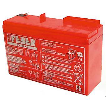 Feber ekstra batteri 6V 10AH