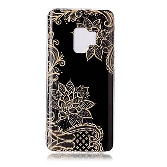 MTK Samsung Galaxy S9 SM-G960 TPU-elegante bloem