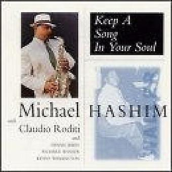 Michael Hashmim - Keep a Song in Your Soul [CD] USA import