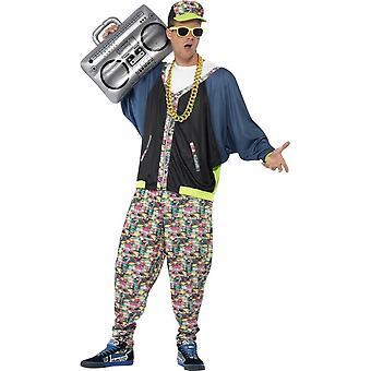 80 ' s hip hop kostým, jedna velikost