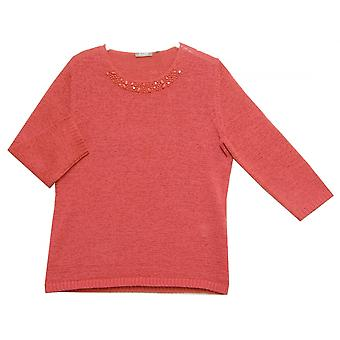 RABE Sweater 36 031420 Raspberry