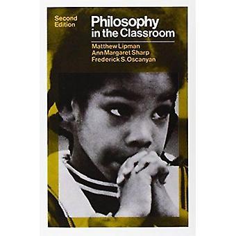 Filosofía en el aula por Matthew Lipman - libro 9780877221838
