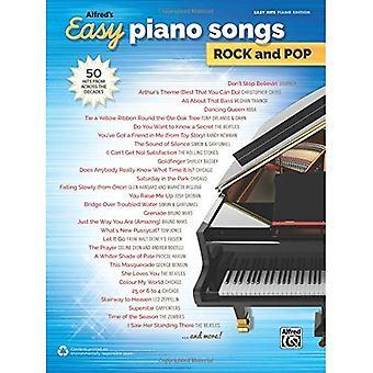 Alfred's łatwe utwory fortepianowe Rock & Pop: 50 hitów z całej dekady (łatwe piosenki Rock & Pop)