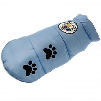Manchester City Dog Coat Large