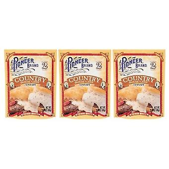 Pioneer Brand Country Sausage Gravy Mix 3 Packet Pack