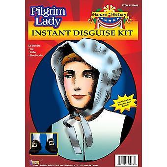 Heroes In History Pilgrim Lady