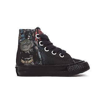 Converse All Star DC Comics Batman Hi Rebirth Infant Kids Trainer Black