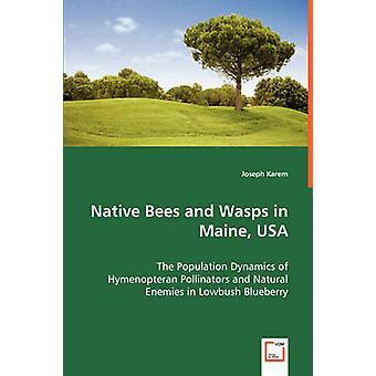 Heimischen Bienen und Wespen in Maine USA von Karem & Joseph