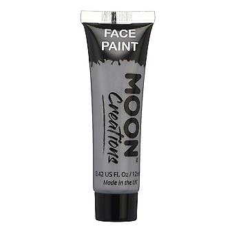 Face & Body Paint by Moon Creations - 12ml - Grey