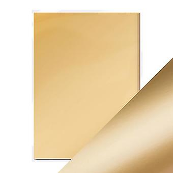 Craft Perfect A4 Satin Effect Mirror Card Honey Gold Tonic Studios