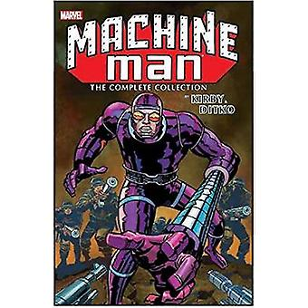 Machine Man by Kirby & Ditko - The Complete Collection by Jack Kirby -