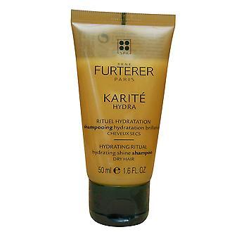 Rene Furterer Karite Hydra Hydrating Shine Shampoo Dry Hair 1.6 OZ