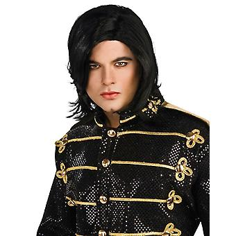 Michael Jackson Straight Adult Licensed Costume Men Wig