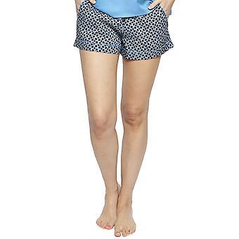 Cyberjammies 4195 femei ' s Milly negru Mix faianta Print bumbac Pyjama scurt