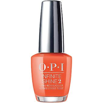 OPI Infinite Shine Santa Monica Beach Peach - California Dreaming 2017 Nail Polish Infinite Shine 10 Day Wear (ISLD39) 15ml