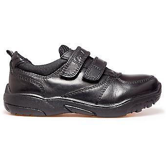 POD Boys Parkin School Shoes Black