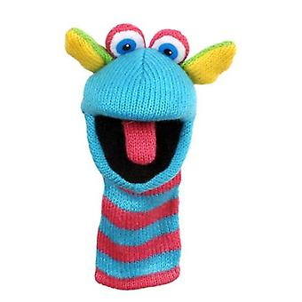 Finger Puppet - Mini Knitted - Scorch Soft Doll Plush PC007101