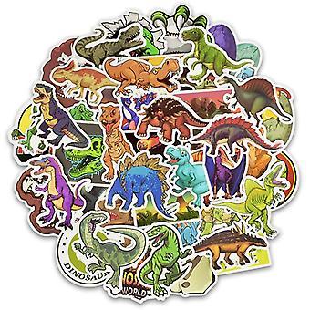Klistermærker, 50 Pack-dinosaurer