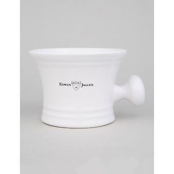 Edwin Jagger Porcelain Shaving Bowl - White