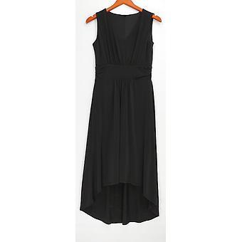 Kelly by Clinton Kelly Petite Dress 2XSP V-Neck Black A278473