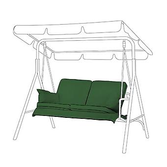 Gardenista® Green Replacement Cushion Set for 2 Seater Swing Seat