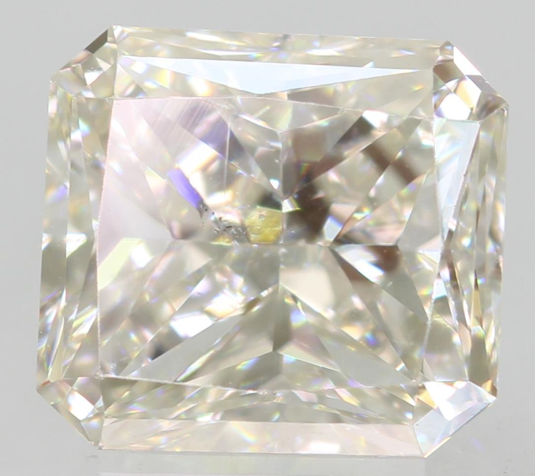 Certified 1.01 Carat G VVS2 Radiant Enhanced Natural Loose Diamond 6x5.52mm 2VG