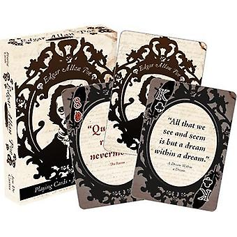 Playing Card - Edgar Allen Poe Poker New 52425