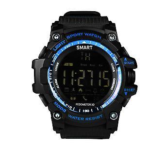 EX16 sport-duurzame SmartWatch met lange batterijlevensduur-blauw