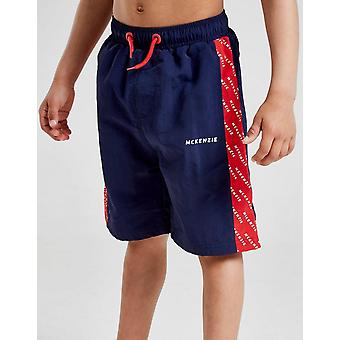 Nieuwe McKenzie Kids ' mini Apollo zwem shorts blauw