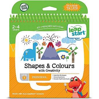 Leapfrog Shapes, Colours, and Creativity Activity Book