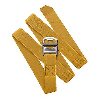 Arcade Guide Slim Webbing Belt in Golden Rod