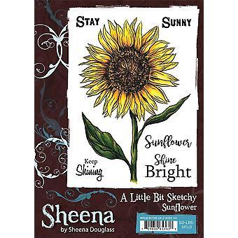 Sheena Douglass A Little Bit Sketchy A6 Stamp Set - Tournesol