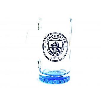 Manchester City FC Stein Pint Verre