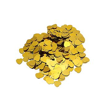 Złote serce konfetti 14gm