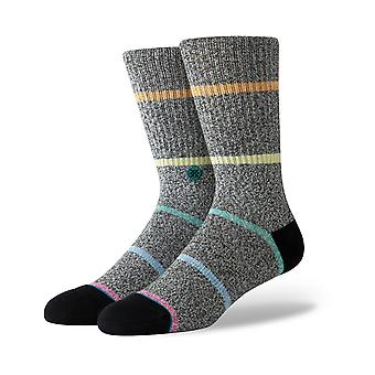 Stance Kanga Crew Socks in Black