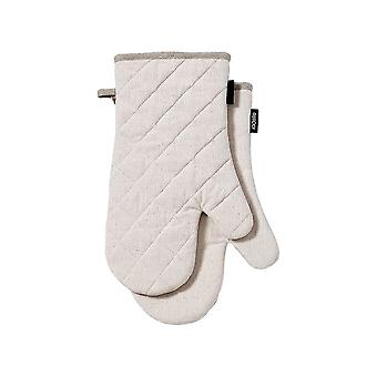 Ladelle Eco Recycled Set of 2 Natural Oven Mitts