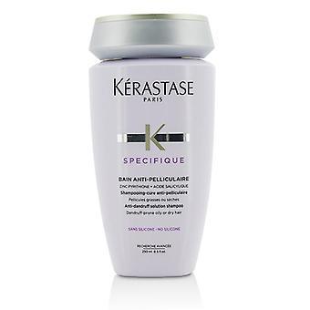 Kerastase specifique Bain anti-pelliculaire anti-caspa Solution shampoo (caspa-prone oleosa ou cabelos secos)-250ml/8.5 oz